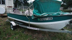 1988 .15ft . Aluminum boat and trailer for Sale in Saint Edward, NE