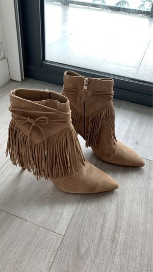 Sam Edelman Fringe Booties — US 6.5 for Sale in Miami, FL