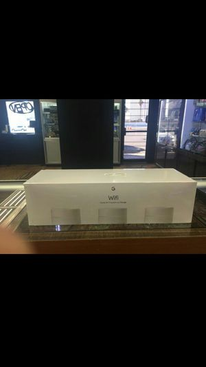 Google Nest Wi-Fi set of 3 for Sale in Las Vegas, NV