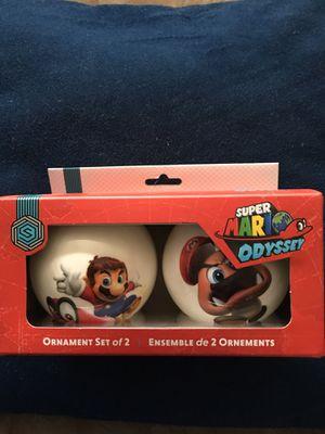 Super Mario odyssey ornaments. for Sale in Tehachapi, CA