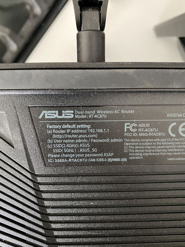 ASUS RT-AC87U Dual Band Gigabit WiFi Router
