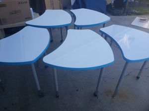 Tables.Dry Erase kids desk 4 sale take all for 100 for Sale in San Diego, CA