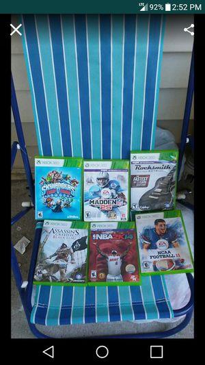 6 Xbox360 Games for Sale in Nashville, TN