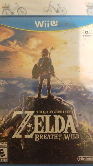 Wii U Zelda Breath of the Wild for Sale in Mesa, AZ