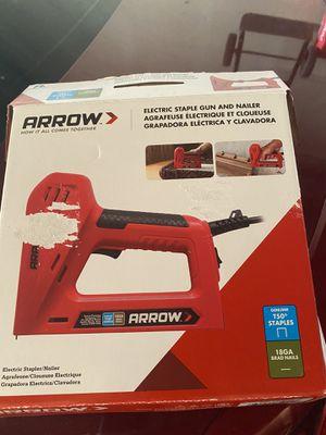 Arrow stapler & nailer for Sale in Costa Mesa, CA
