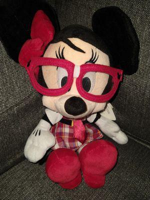 New Disney parks mini mouse plush glasses nerd geek for Sale in Bellevue, WA