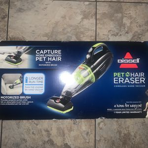 Bissell Pet Hair Eraser Cordless Hand Vacuum for Sale in Rialto, CA