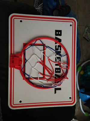 Basketball net with board for bedroom for Sale in San Diego, CA
