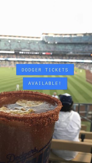DODGERS TICKETS for Sale in Los Angeles, CA
