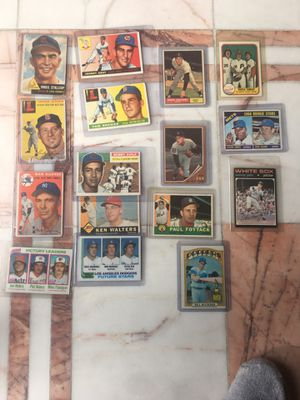 1959 and 60s vintage baseball cards rose -John for Sale in Troy, MI