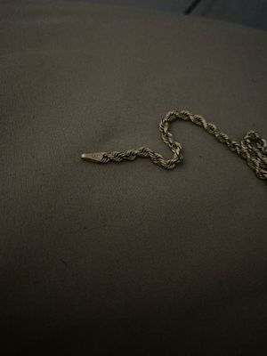14k solid gold 24 inch chain for Sale in Bellevue, WA