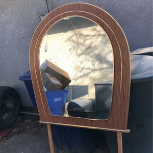 Wooden Mirror For Dresser for Sale in Hanford, CA