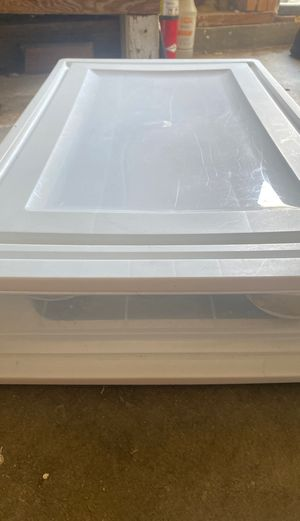 X large slide storage single drawer container for Sale in Santa Ana, CA