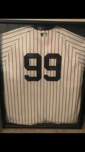 Aaron Judge Authentic Yankees Home Jersey - SIGNED for Sale in Odessa, FL