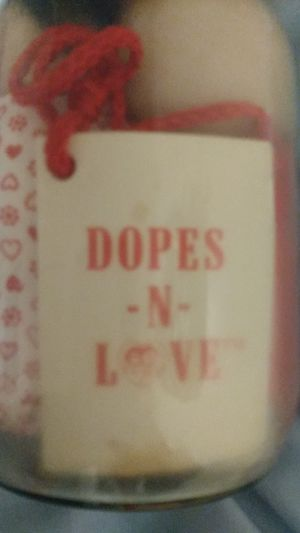 "Antique ""Dopes In Love"" inside of an old fashioned mason jar for Sale in San Francisco, CA"
