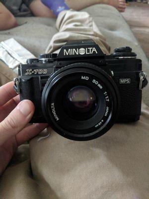 Minolta X 700 Film Camera for Sale in North Royalton, OH