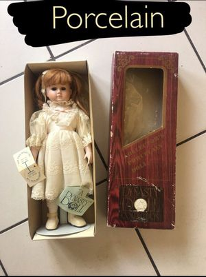 Doll dynasty doll rare old porcelain for Sale in Ontario, CA