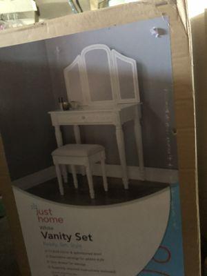 White vanity for Sale in Modesto, CA