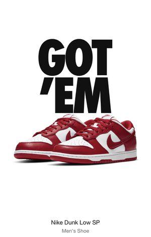 Nike Sb University Red size 10.5 for Sale in Miami, FL