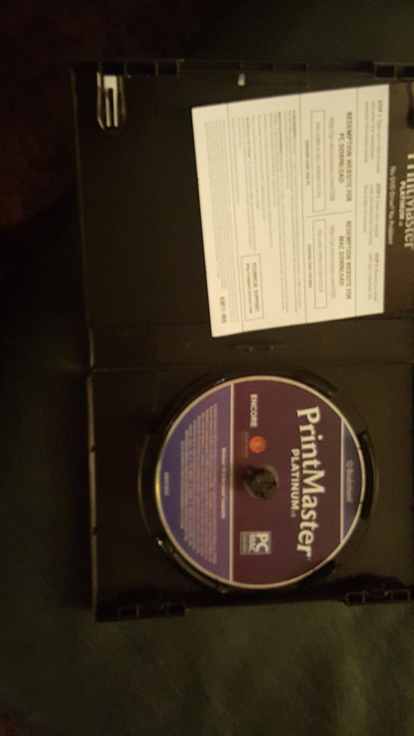 Printmaster Software never been used