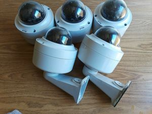 Lot of 5 Pelco IMP1110-1E Fixed Network Dome Cameras for Sale in Duncanville, TX