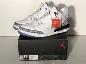 Jordan 3 retro Free throw line with receipt SS for Sale in Pittsburgh, PA
