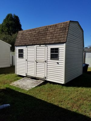 10x12 Barn Yard Shed. Almond siding with additional loft storage space. for Sale in Newport News, VA