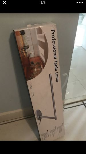 Professional table lamp for Sale in Miami, FL