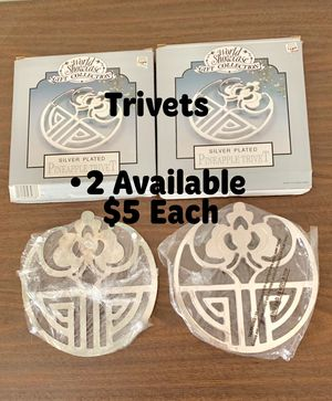 • 2 Trivets $5 Each in Box for Sale in McMinnville, TN