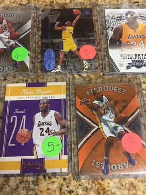 Baseball , Basketball cards Kobe Bryant cards $10 for Sale in Rolling Hills Estates, CA