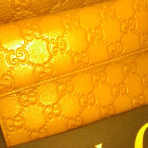 Gucci Women's Wallet, Beautiful Nice Warm Mustard Color Pure Authentic for Sale in Fremont, CA