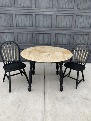 Drop leaf table set w/music sheets for Sale in Bel Aire, KS