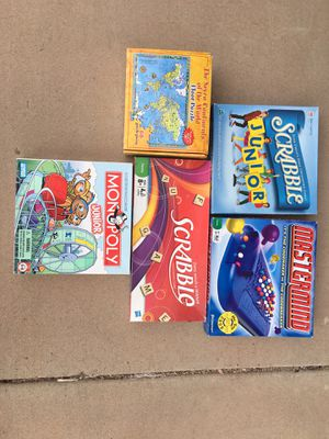 Variety of games and one big floor puzzle for Sale in Phoenix, AZ