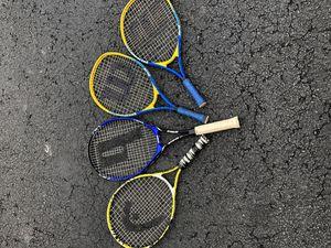 Four tennis rackets for Sale in Plainfield, IL
