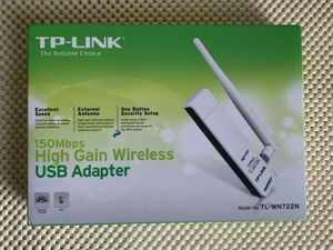 TP Link TL-WN722N 150MPS High Gain Wireless USB Network Adapter for Sale in Queens, NY