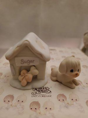 Precious Moments : Sugar & Her Doghouse, w/ box for Sale in Garden Grove, CA