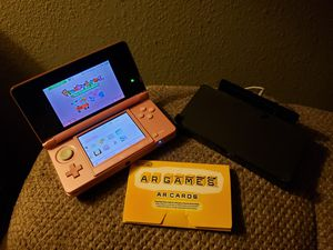Nintendo 3DS w/ 5 games, charger station and carrying case for Sale in Westminster, CO