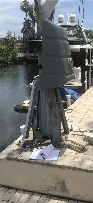 Davit lift for jet ski or boat for Sale in SUNNY ISL BCH, FL