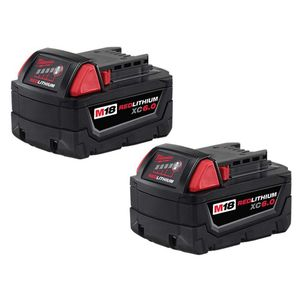 MILWAUKEE M18 RED LITHIUM HIGH OUTPUT XC6.0 TWIN PACK BATTERIES for Sale in Aiea, HI