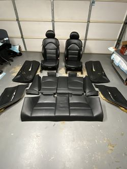 2001-2006 BMW E46 M3 Coupe Original Black Interior Complete Seats + Panels for Sale in Los Angeles,  CA