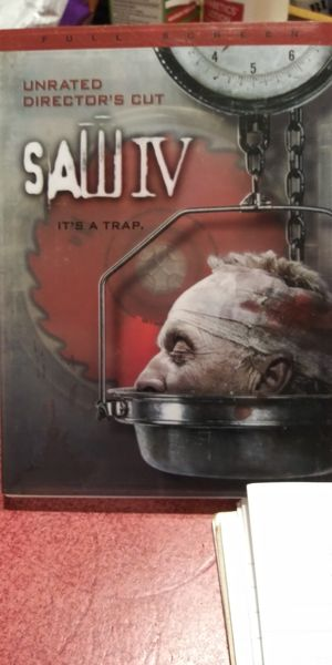 Saw IV dvd for Sale in Brainerd, MN