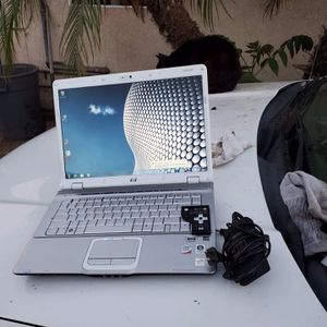 All white edition special edition HP laptop 15.6 inch with remote control with charger all work 100% 4gb ram 500gb window 7 for Sale in Beverly Hills, CA