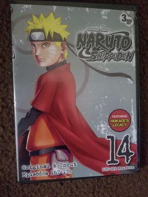Naruto Shippuden set 14 dvd for Sale in Santa Ana, CA