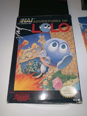Nintendo NES LOLO for Sale in Stoughton, MA
