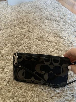 Small Coach black and gray bag for Sale in Alexandria, VA