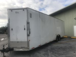 30ft trailer / car hauler / ready for the road / for Sale in Oldsmar, FL
