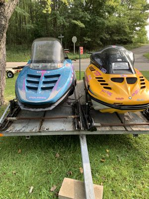 Two Snowmobiles and Trailer For Sale for Sale in Aurora, IL