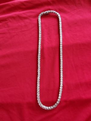 Silver necklace for sale for Sale in Queens, NY