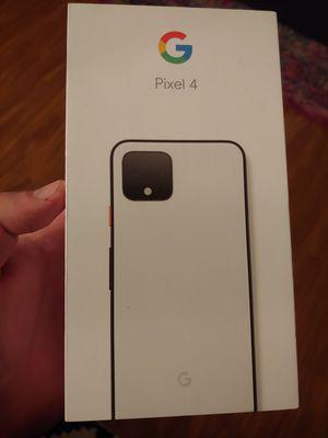 Brand new in box sim unlocked Google pixel 4 64gb for Sale in San Jose, CA