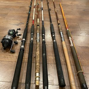 7 Rods and 2 Reels for Sale in Battle Ground, WA